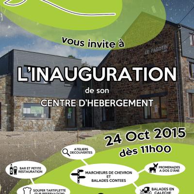Inauguration du Centre d'Hébergement (24/10)